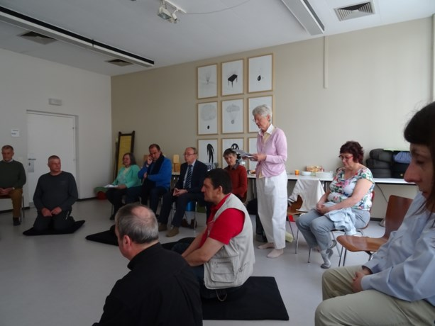 Stiltemeditatie brengt acht levensbeschouwingen samen